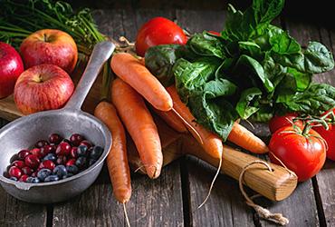 Produktgruppe - Obst und Gemüse und Kräuter
